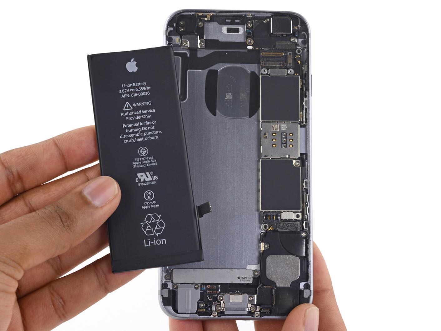 60 € remboursés pour les changements de batterie faits en 2017 — IPhone