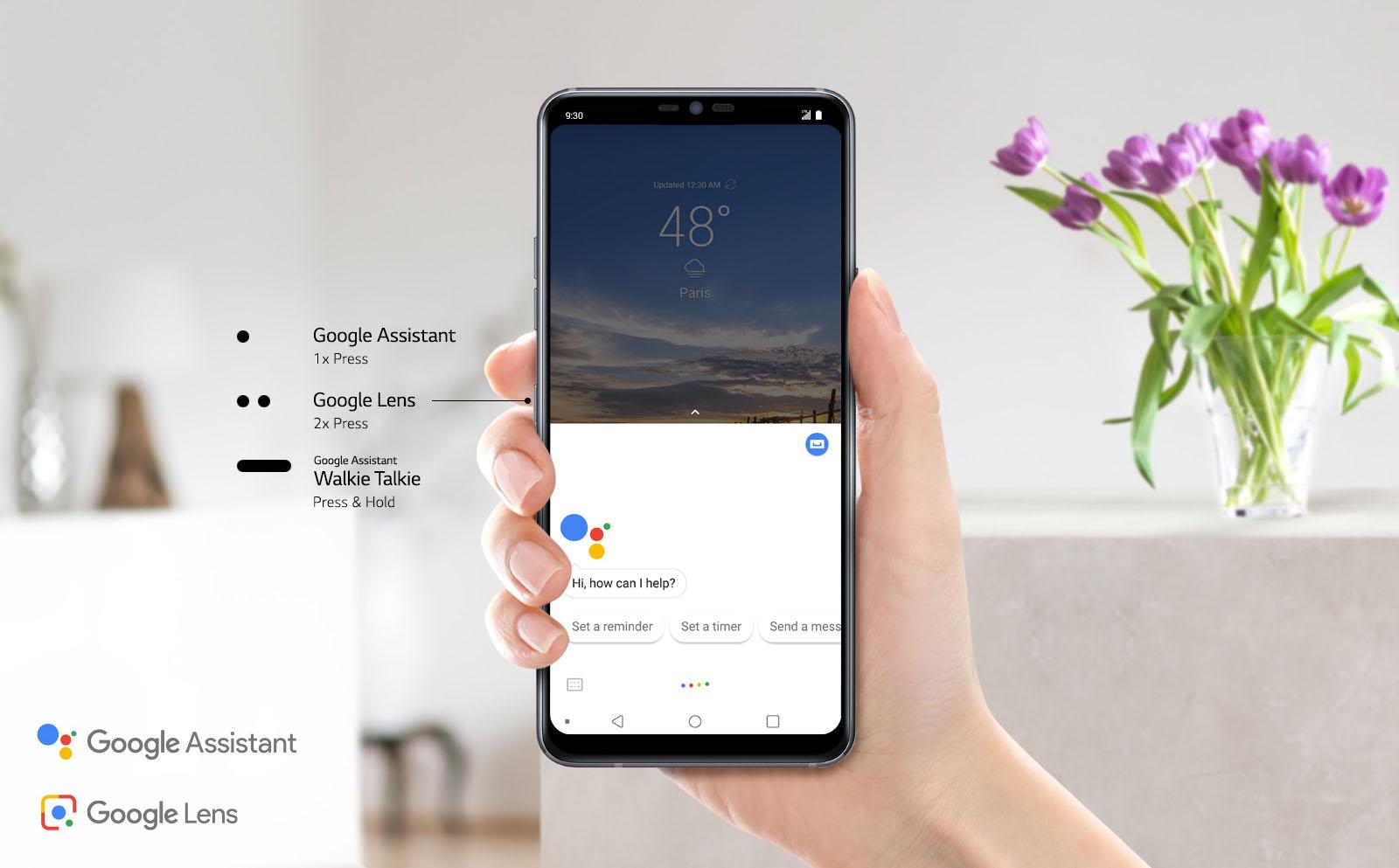 google lens le lg g7 thinq tease de nouvelles fonctionnalit s pour la google i o frandroid. Black Bedroom Furniture Sets. Home Design Ideas