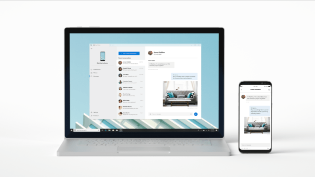 Your Phone va synchroniser votre smartphone avec Windows 10