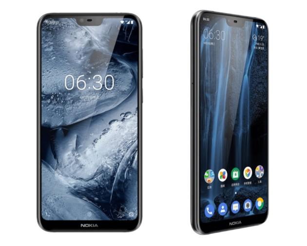Le Nokia X6 ou 6.1 Plus
