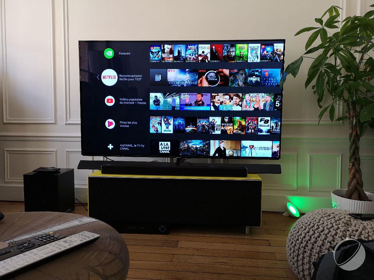Kiwi utilise le nVidia SHIELD comme décodeur TV Fibre