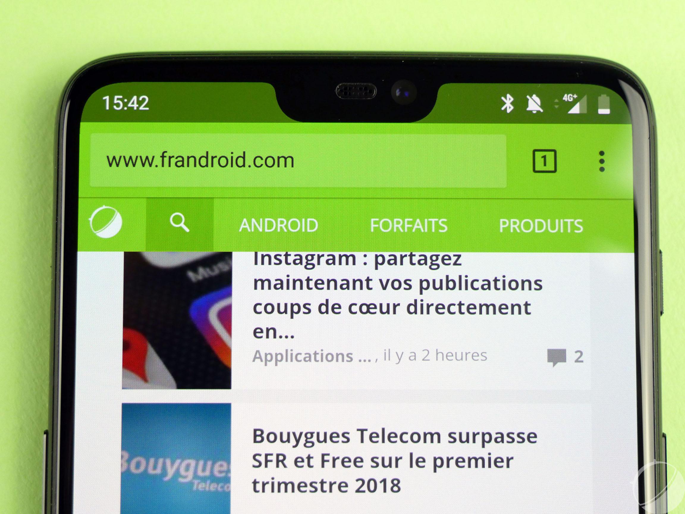Test OnePlus 6 : notre avis complet - Smartphones - FrAndroid