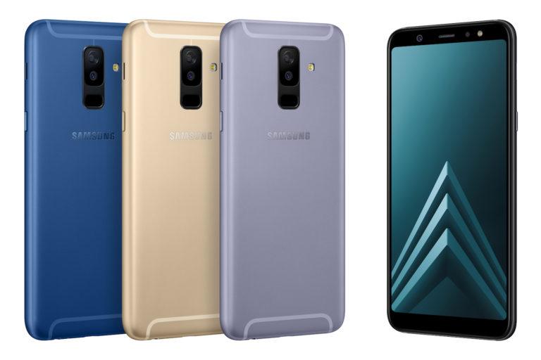 Les Samsung Galaxy A6 et A6+ sont officiels