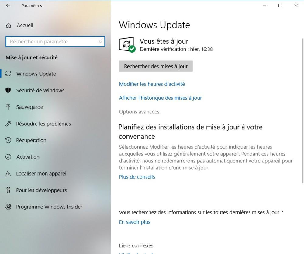 Windows Update paramètre de livraison (3)