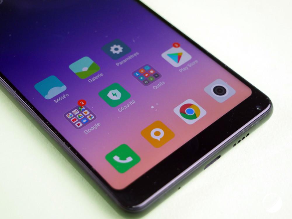 Le Xiaomi Mi Mix 2S, pour illustration