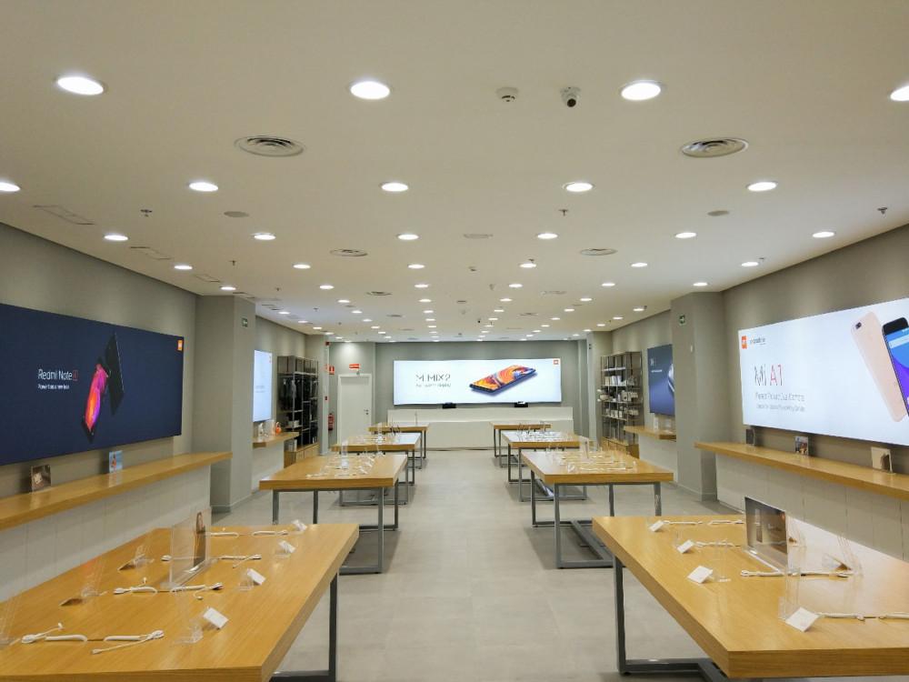 Un magasin Xiaomi espagnol, pour illustration