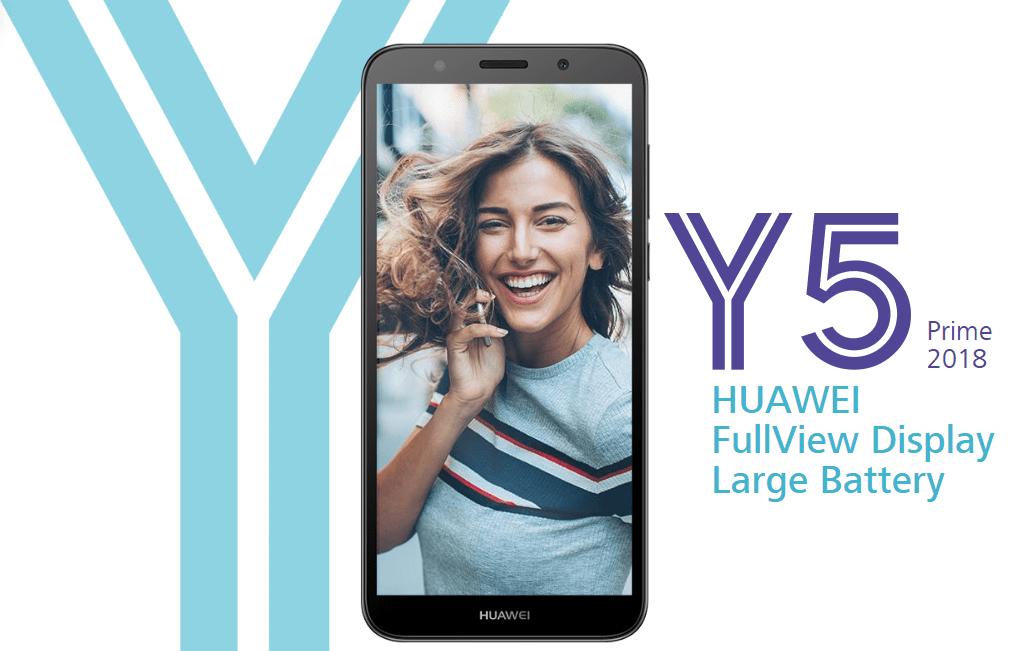 Huawei Y5 Prime 2018 officialisé, un timide smartphone en entrée de