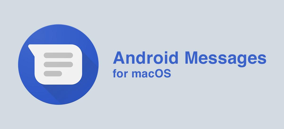 android messages un fran ais a d velopp une application pour macos frandroid. Black Bedroom Furniture Sets. Home Design Ideas