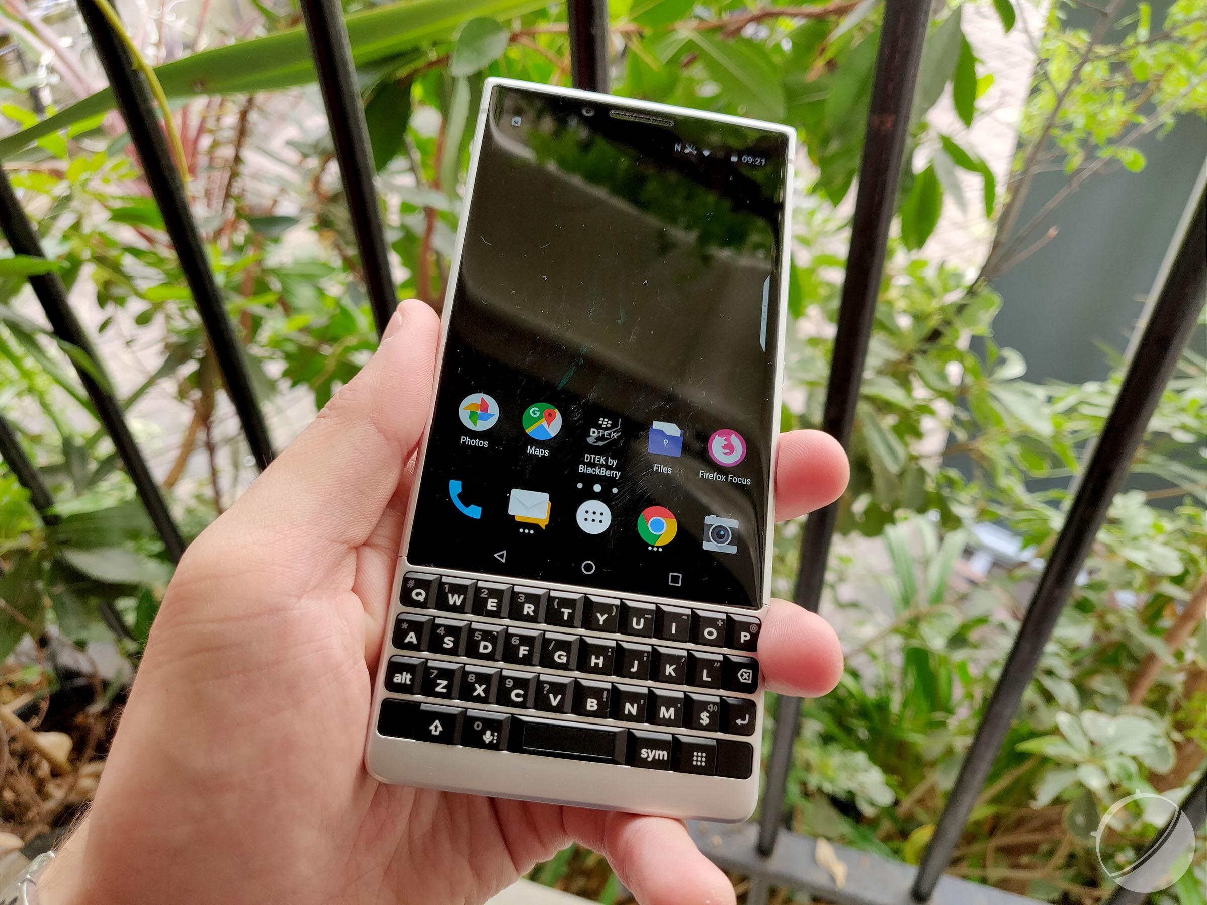 Applications de datation BlackBerry