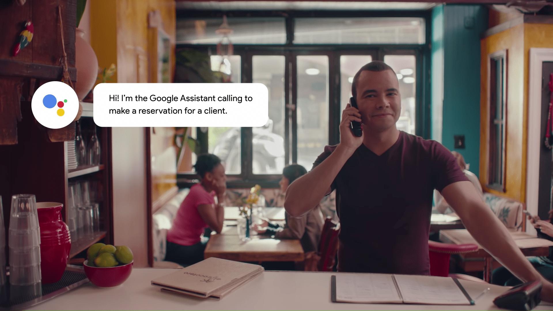Google Duplex : vous pensiez appeler un robot, c'est un humain au bout du fil