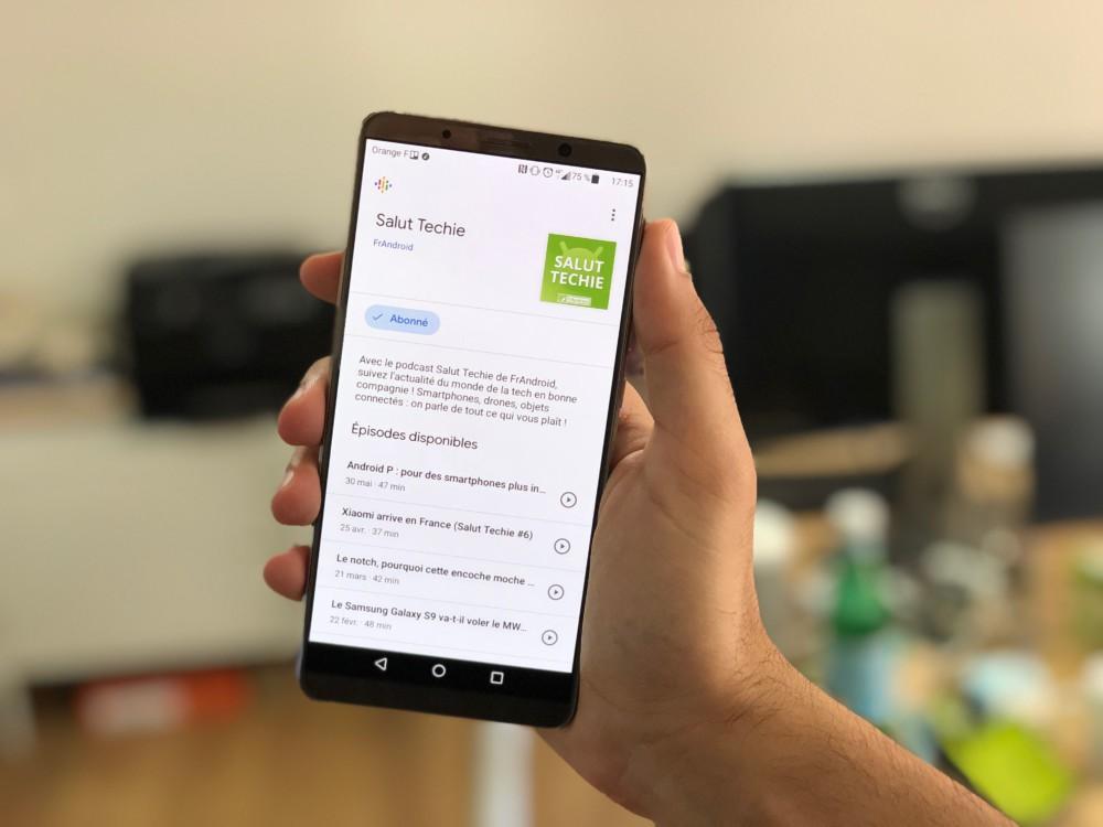 Google Podcasts : Google lance une application de lecture et de gestion de podcasts sur Android