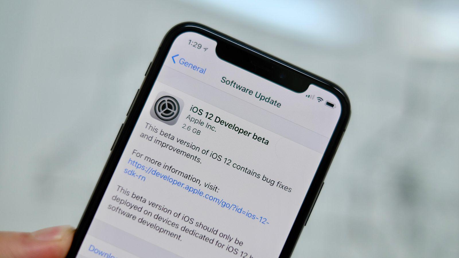 Mise à jour : Apple propose iOS 12.4.1 dès maintenant !