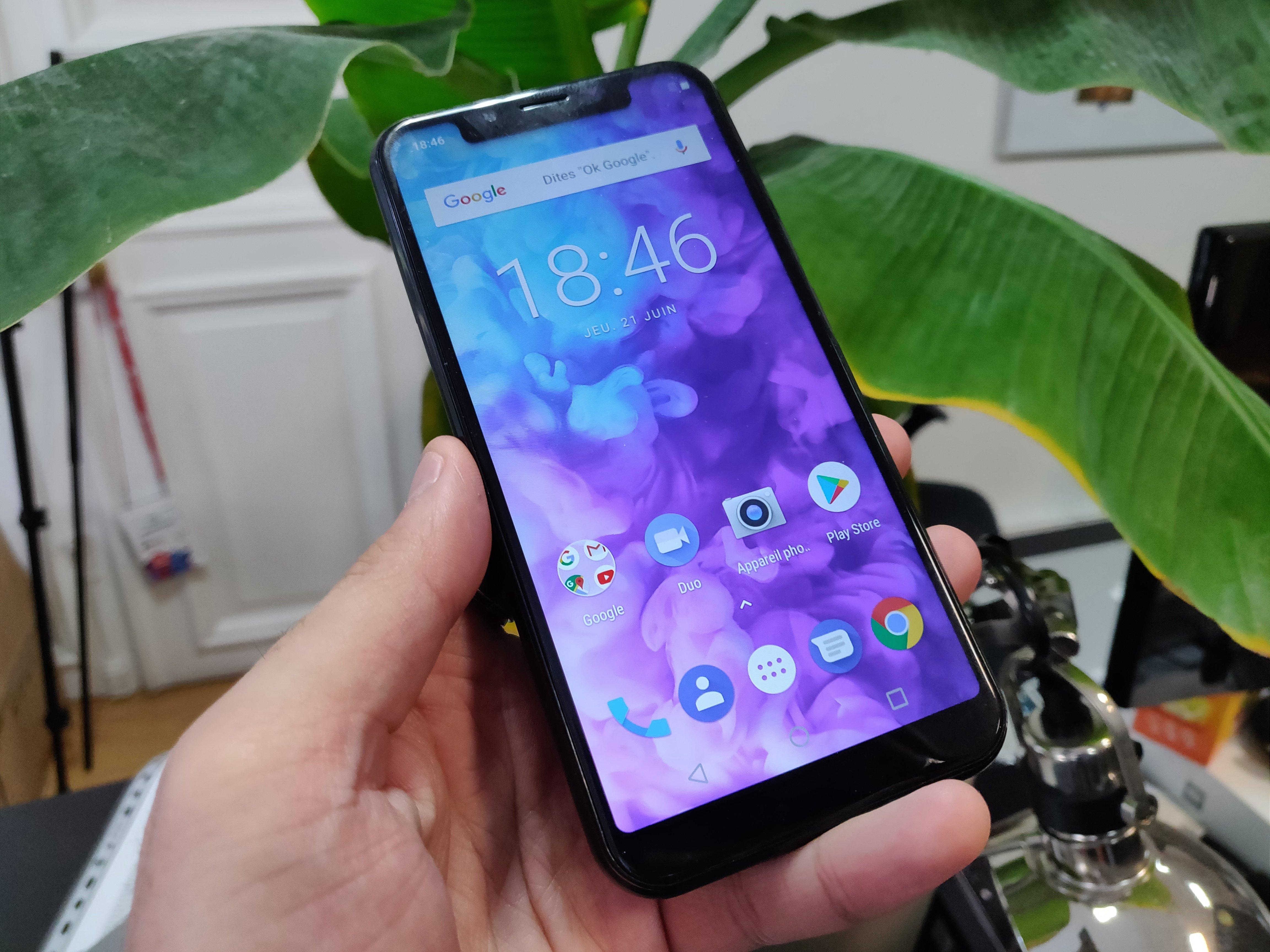 Bien qu existant depuis 2014, le petit constructeur marseillais s est  montré bien plus discret que Wiko, l autre marque de smartphones de ... 827270adb37