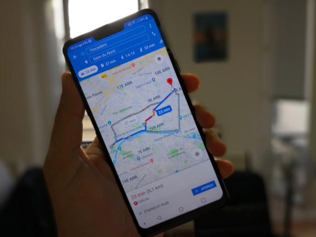 Google Maps : la navigation a droit à son thème sombre perpétuel