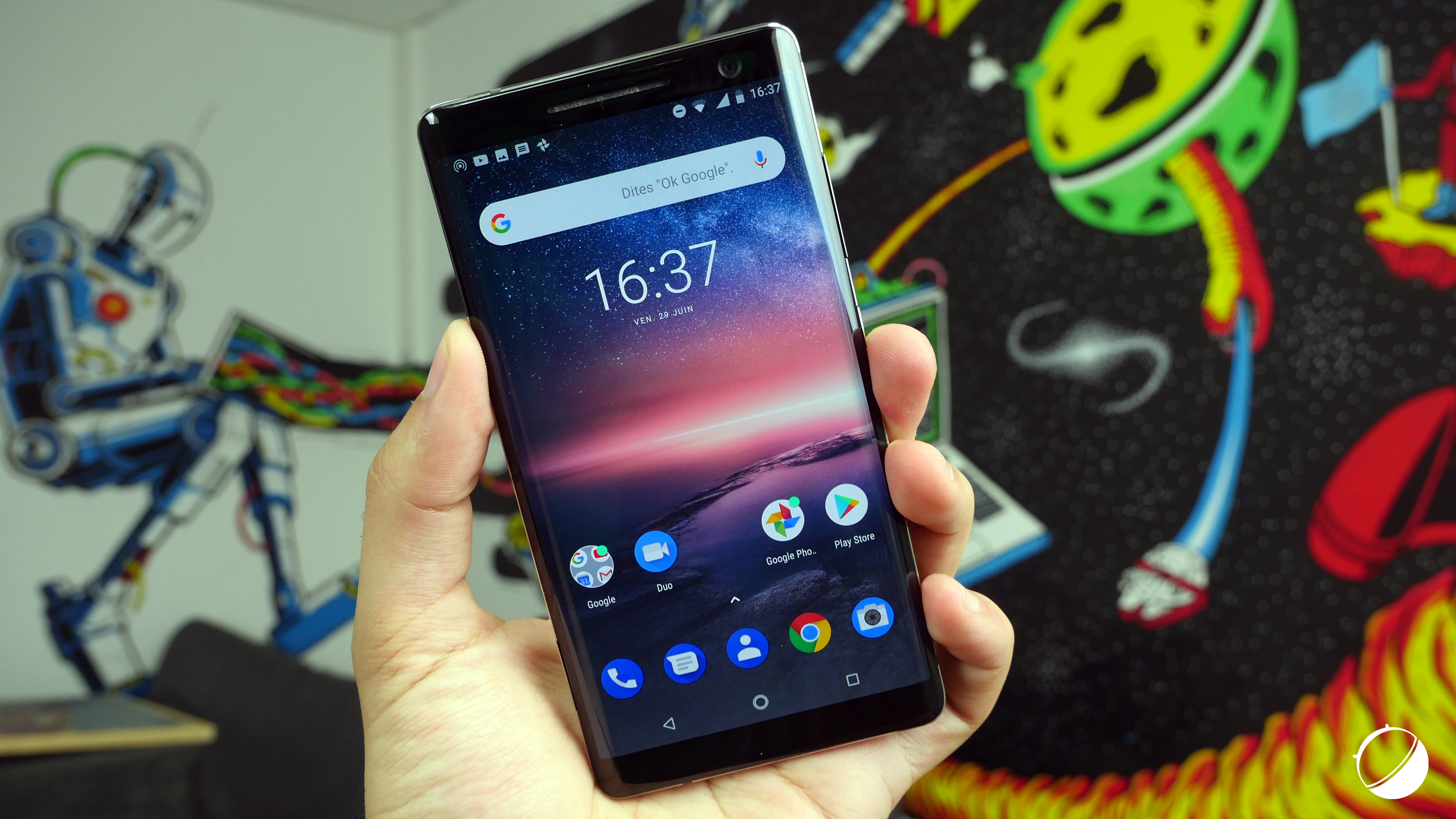 Test Nokia 8 Sirocco   notre avis complet - Smartphones - FrAndroid 043829f9cd02