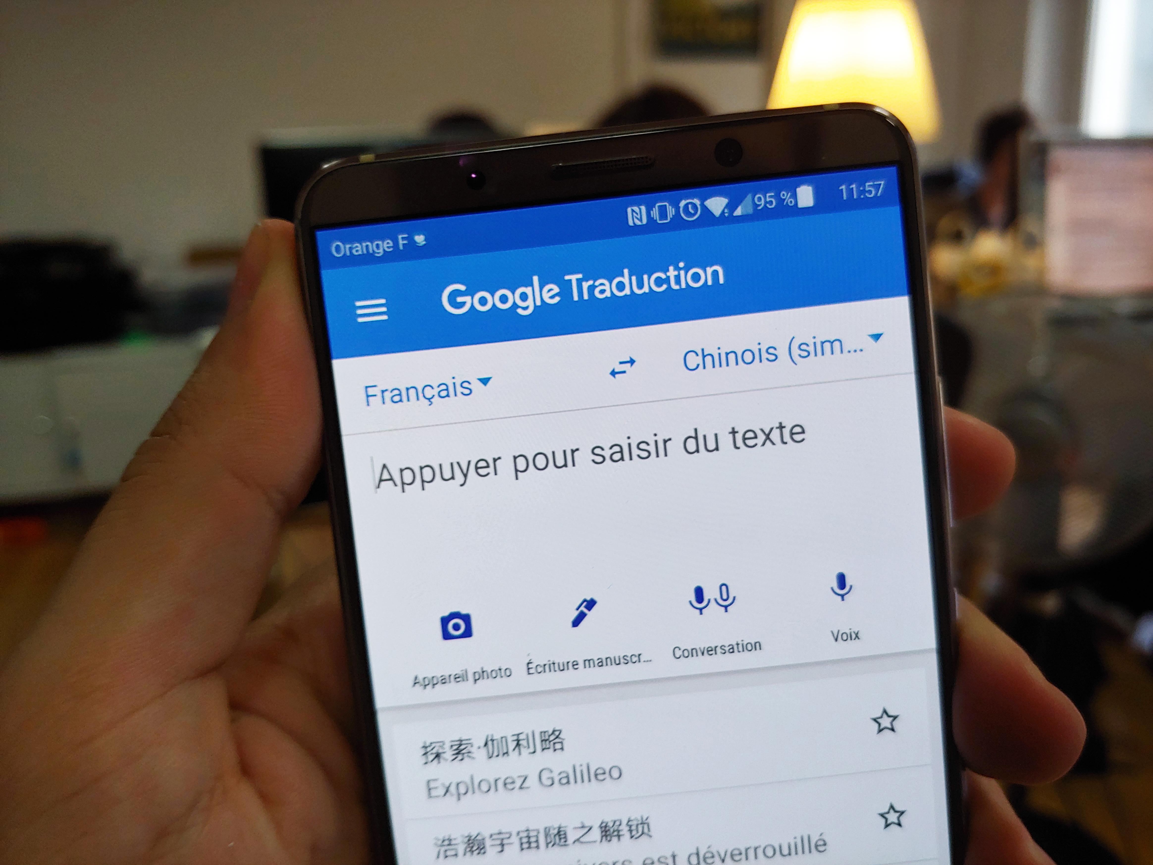 Grâce à Google Traduction et à l'IA, votre