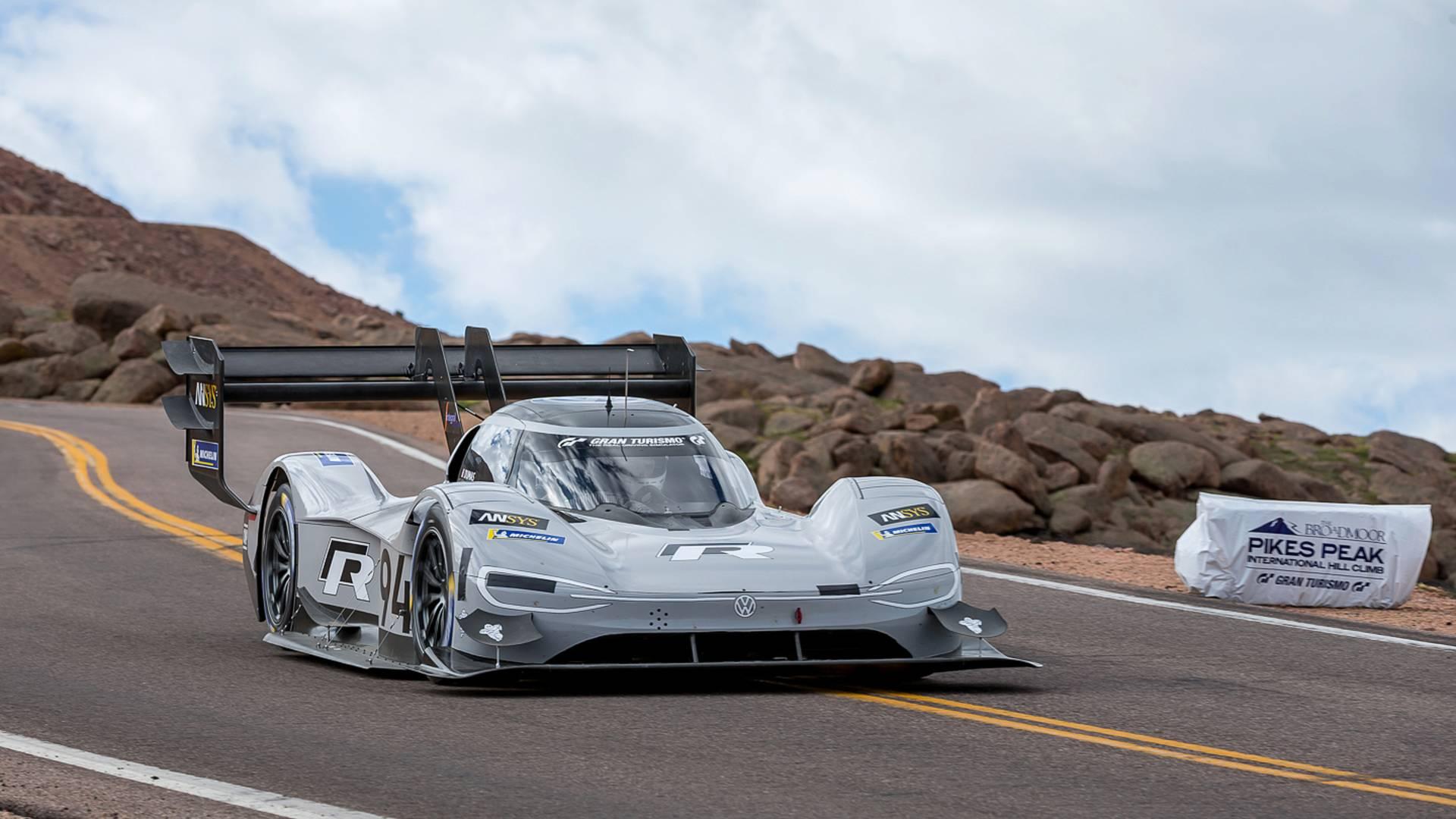 Pikes peak le record de vitesse de s bastien loeb cras par une voiture lectrique frandroid - Voiture sebastien loeb ...