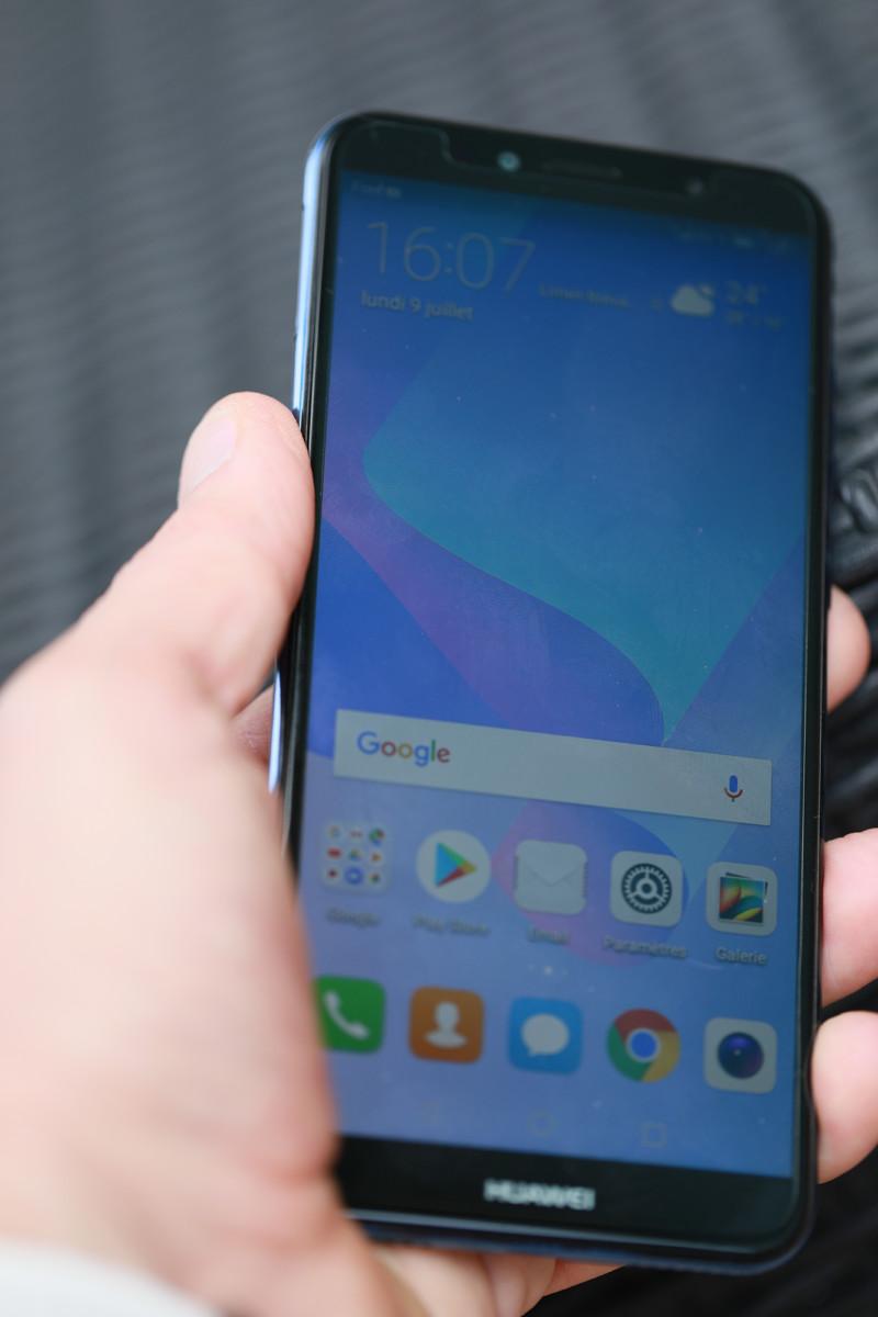 Test Huawei Y6 (2018) : notre avis complet - Smartphones - FrAndroid