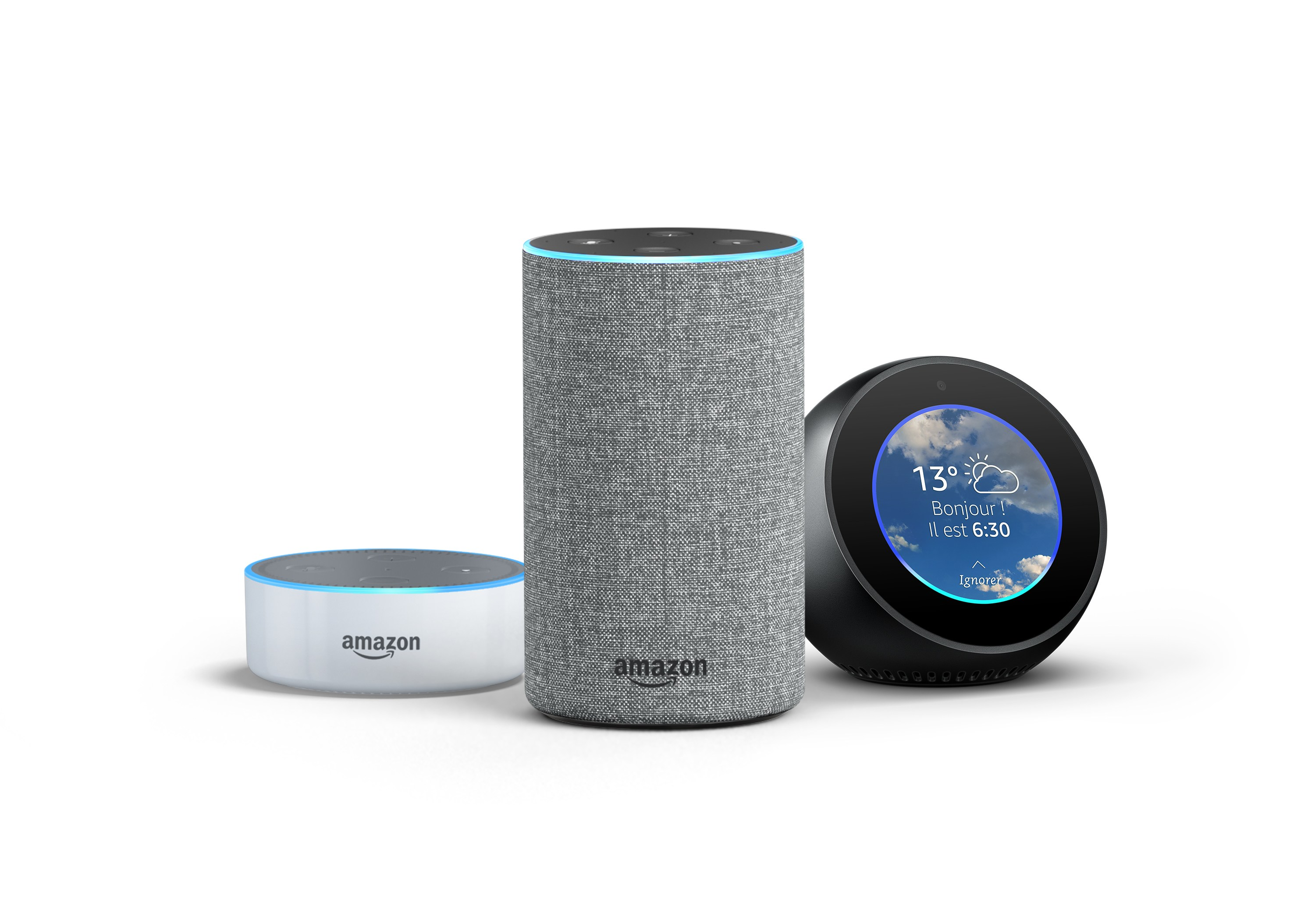 prime day les enceintes connect es amazon echo avec. Black Bedroom Furniture Sets. Home Design Ideas