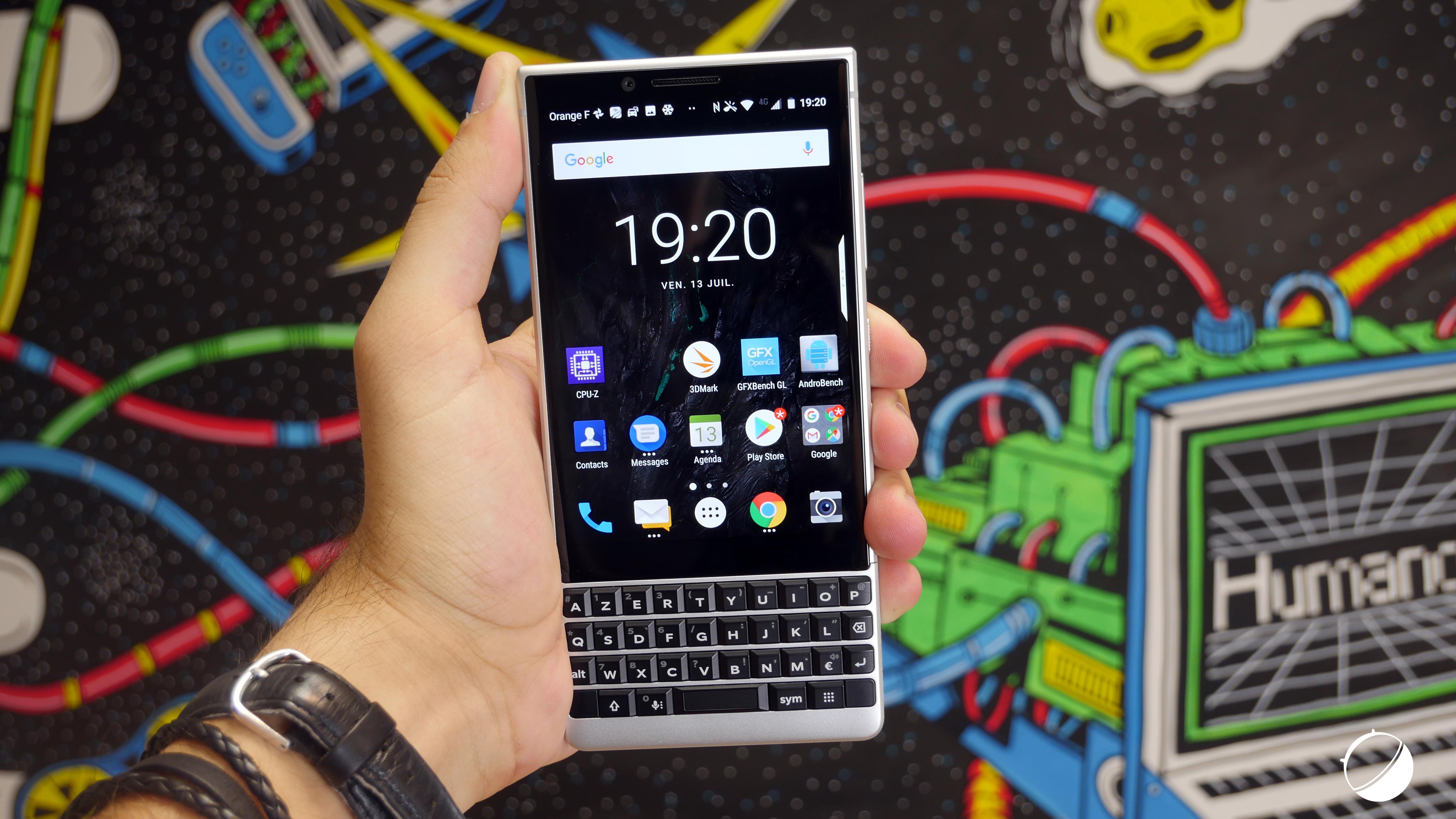 BlackBerry reviendra en 2021 avec un smartphone5G et un clavier physique
