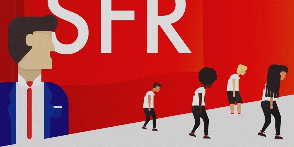 SFR condamné pour un plan social « déloyal » visant à supprimer 1700 postes