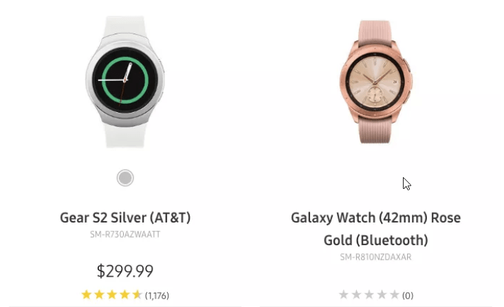 Samsung dévoile sa nouvelle montre connectée par erreur