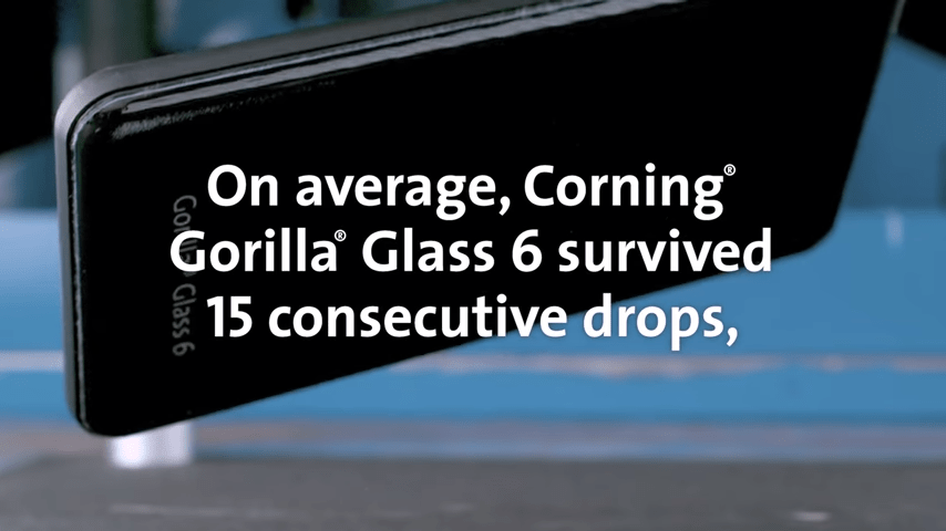 Gorilla Glass 6 stats
