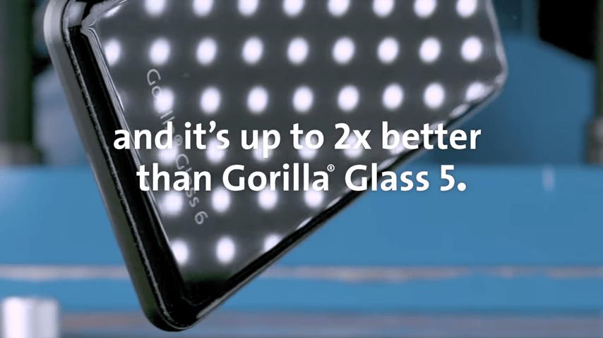 Avec le Corning Gorilla Glass 6, votre smartphone survivra à 15 chutes