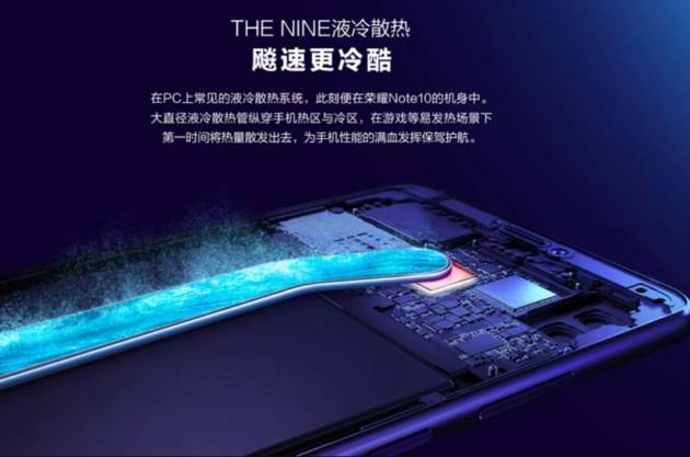 Honor Note 10 officialisé : écran AMOLED massif de 6,95 pouces et refroidissement liquide