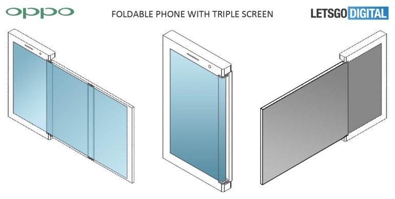 oppo imagine quatre prototypes de smartphones pliables dont un avec airbag frandroid. Black Bedroom Furniture Sets. Home Design Ideas