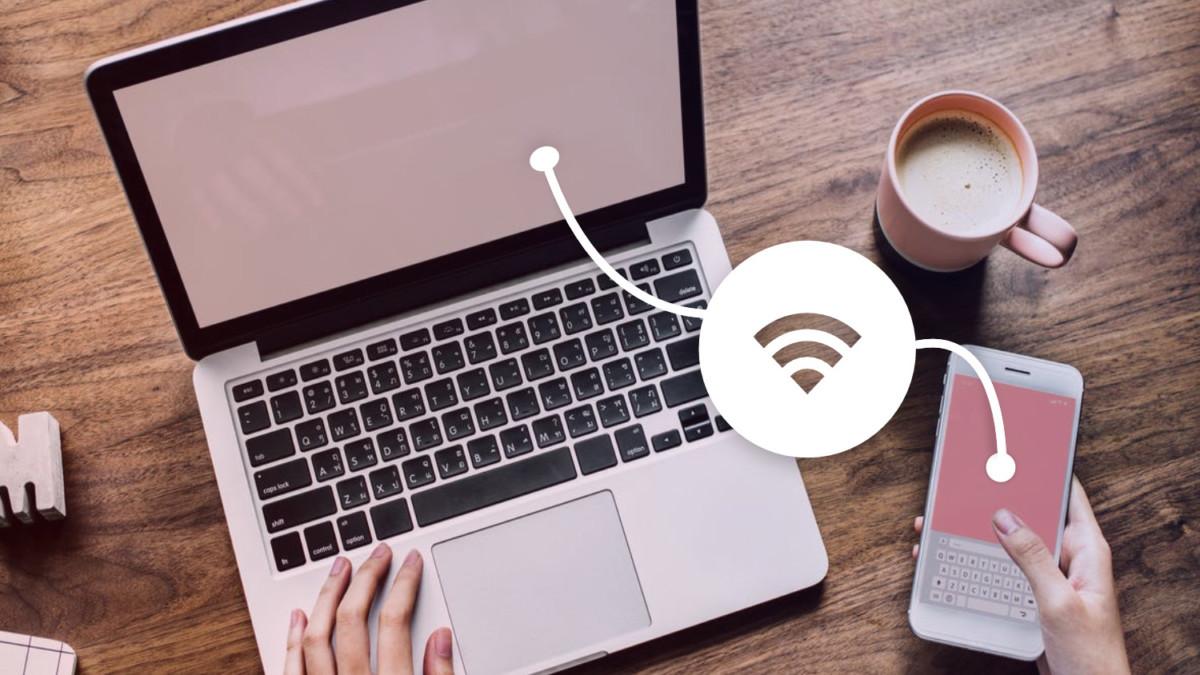 Connexion WiFi entre un smartphone et un PC