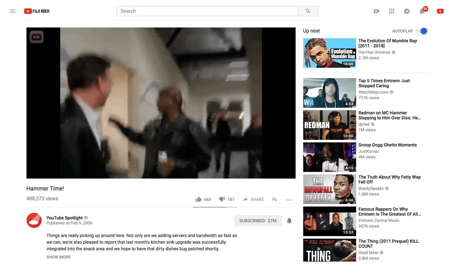 YouTube change son lecteur pour qu'il s'adapte aux différents formats de vidéos