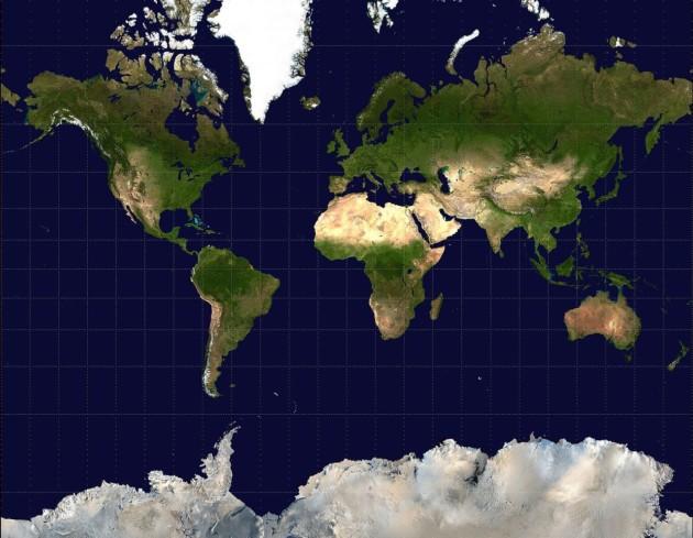 La projection de Mercator