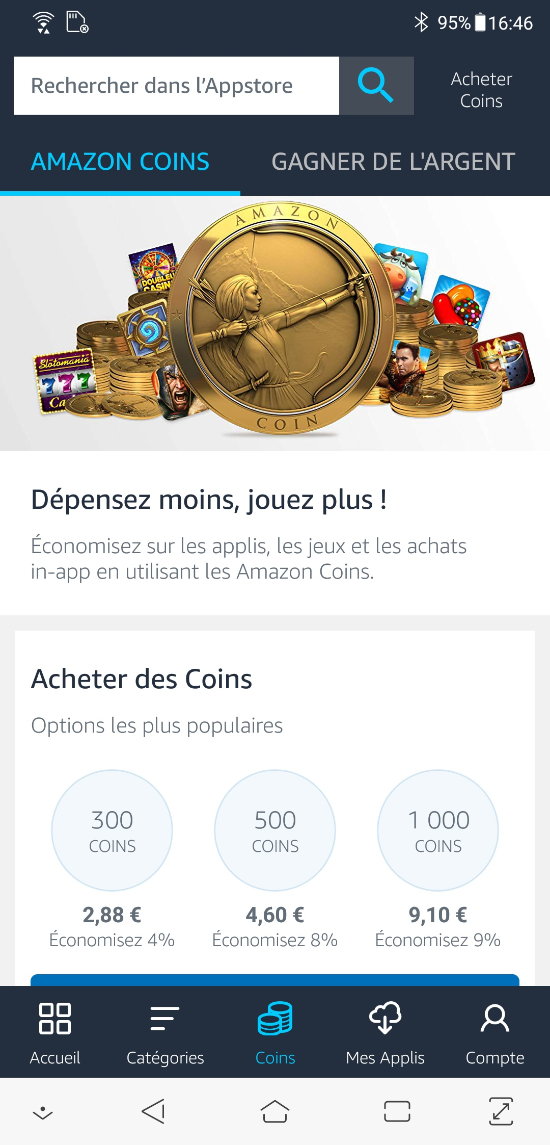 Amazon Coins Prix Par Pays