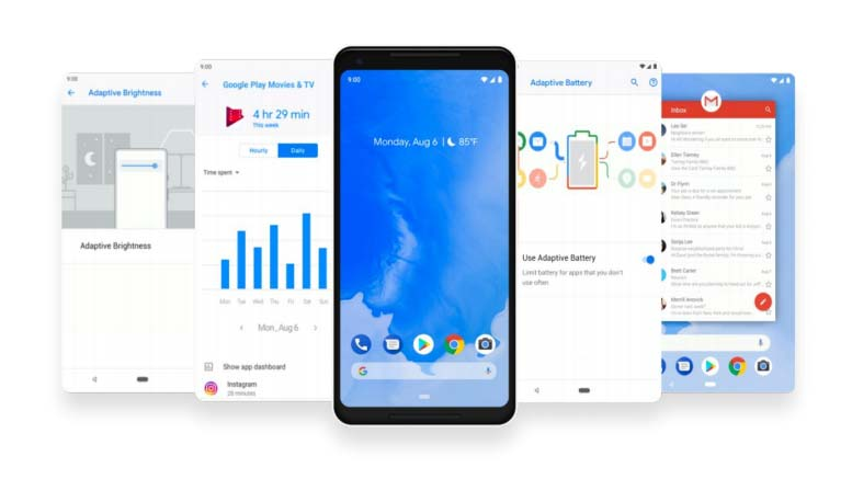 Android 9.0 disponible officiellement sous le nom d'Android Pie