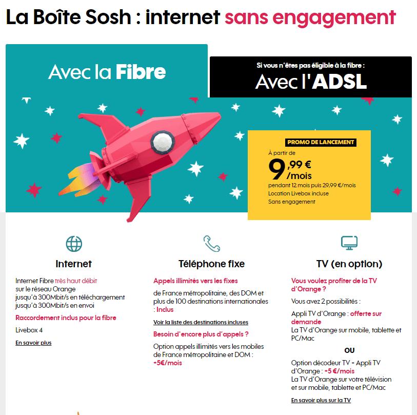La gamme Sosh Internet + Mobile est morte ! Vive la boîte Sosh ! Pour la  rentrée, l opérateur au nom difficile à prononcer dans une phrase  comprenant trop ... a30ed86ce293