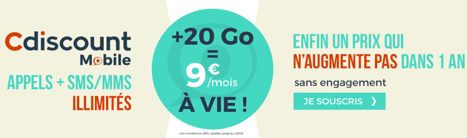 Bon Plan Un Forfait Mobile Illimite Avec 20 Go De 4g A 9 Euros