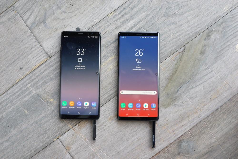 Samsung galaxy note 8 et note 9 quelles sont les diff rences frandroid - Difference entre note 3 et note 3 lite ...