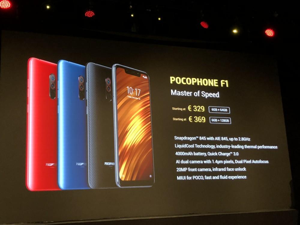 Pocophone F1 By Xiaomi Du Snapdragon 845 224 Pas Cher