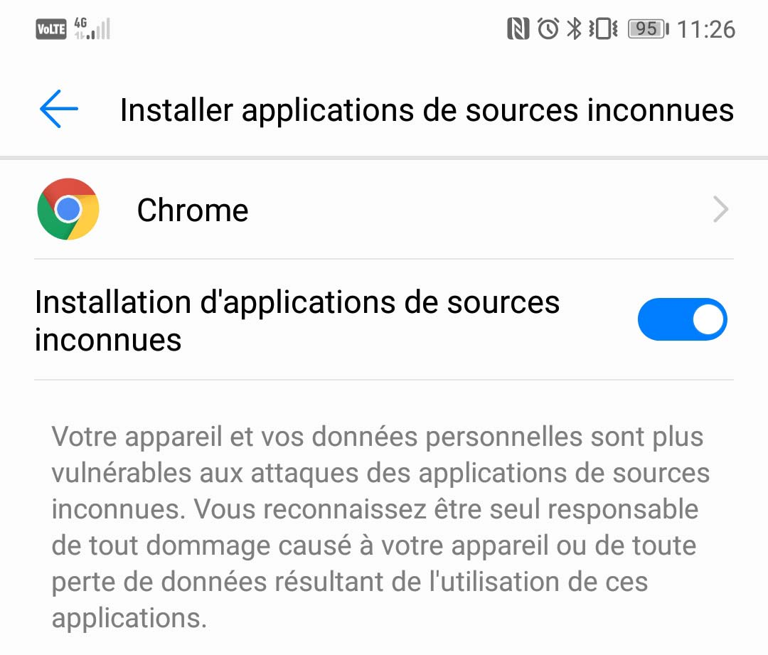 telecharger chrome android gratuit