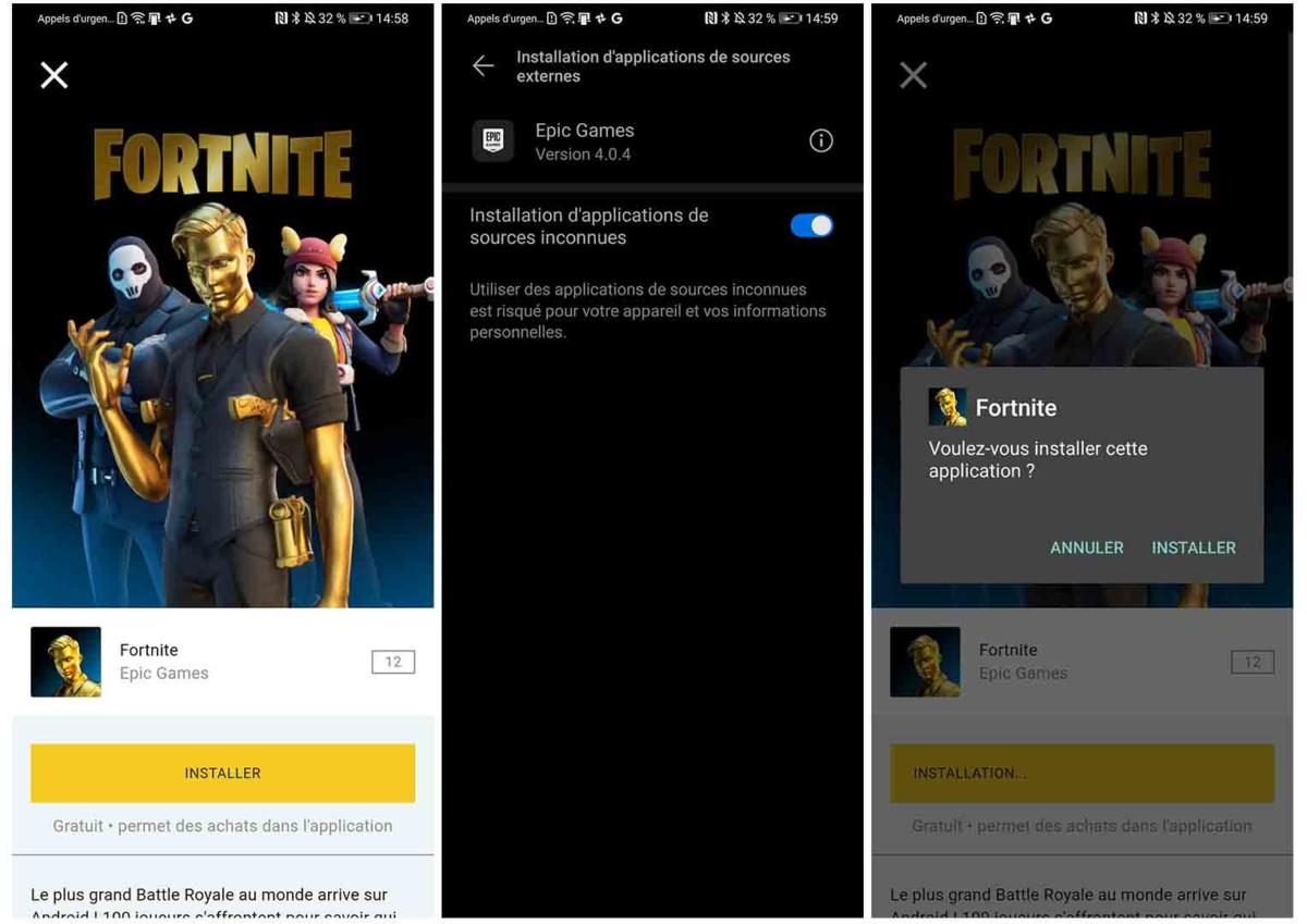 Installer Fortnite