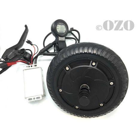 Les moteurs peuvent être achetés en kit, pour électrifier une trottinette(Source: ozo)