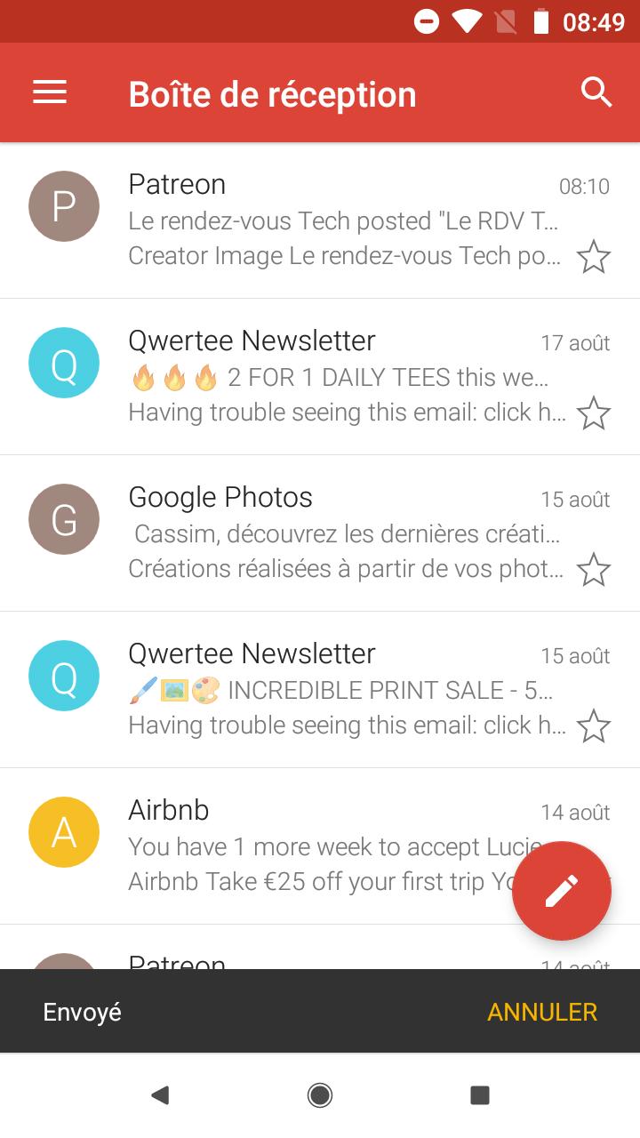 gmail pour android   vous pouvez maintenant annuler l u0026 39 envoi d u0026 39 un mail  voici comment faire