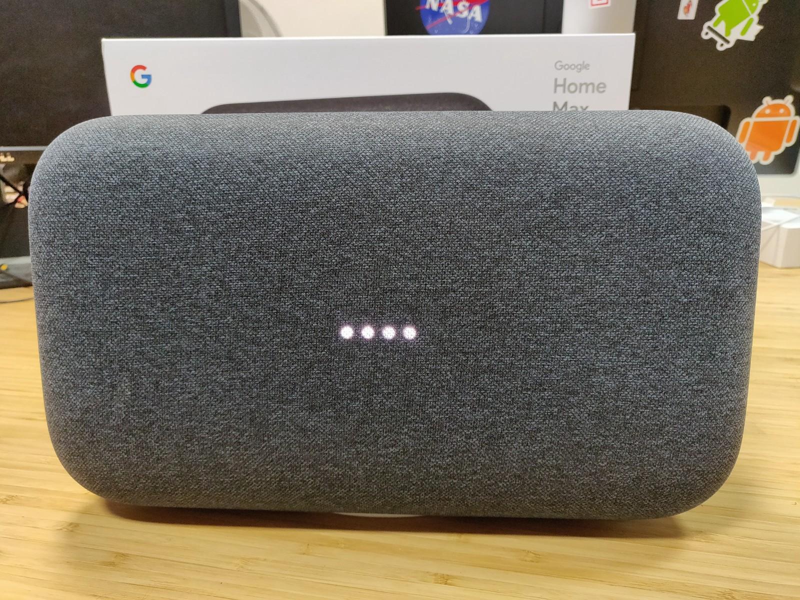 google home max nos premi res impressions sur la grosse enceinte intelligente frandroid. Black Bedroom Furniture Sets. Home Design Ideas