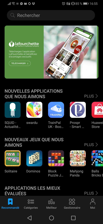 Les meilleures alternatives au Google Play Store