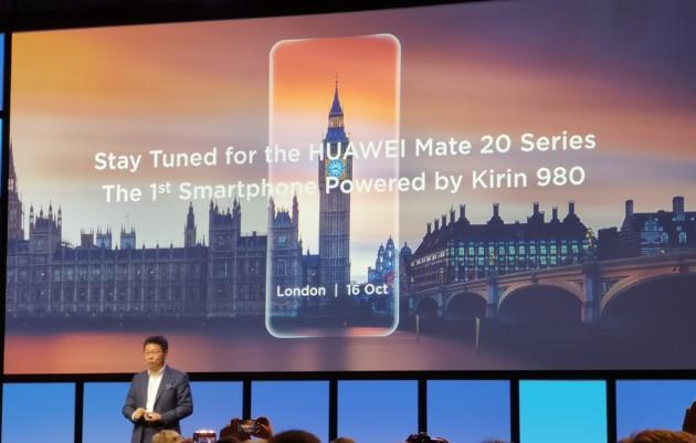 Les nouveaux Mate 20 seront annoncés le 16 octobre à Londres