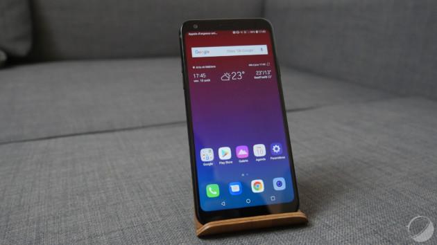 Le LG Q7, sorti en mai dernier, était équipé d'une puce Snapdragon 450.