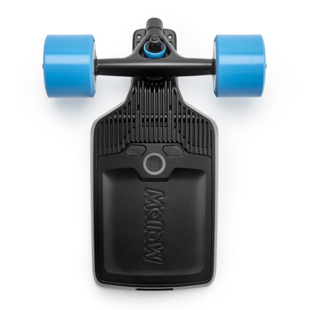 Mellowboard propose un kit qui s'adapte sur la majorité des deck du marché