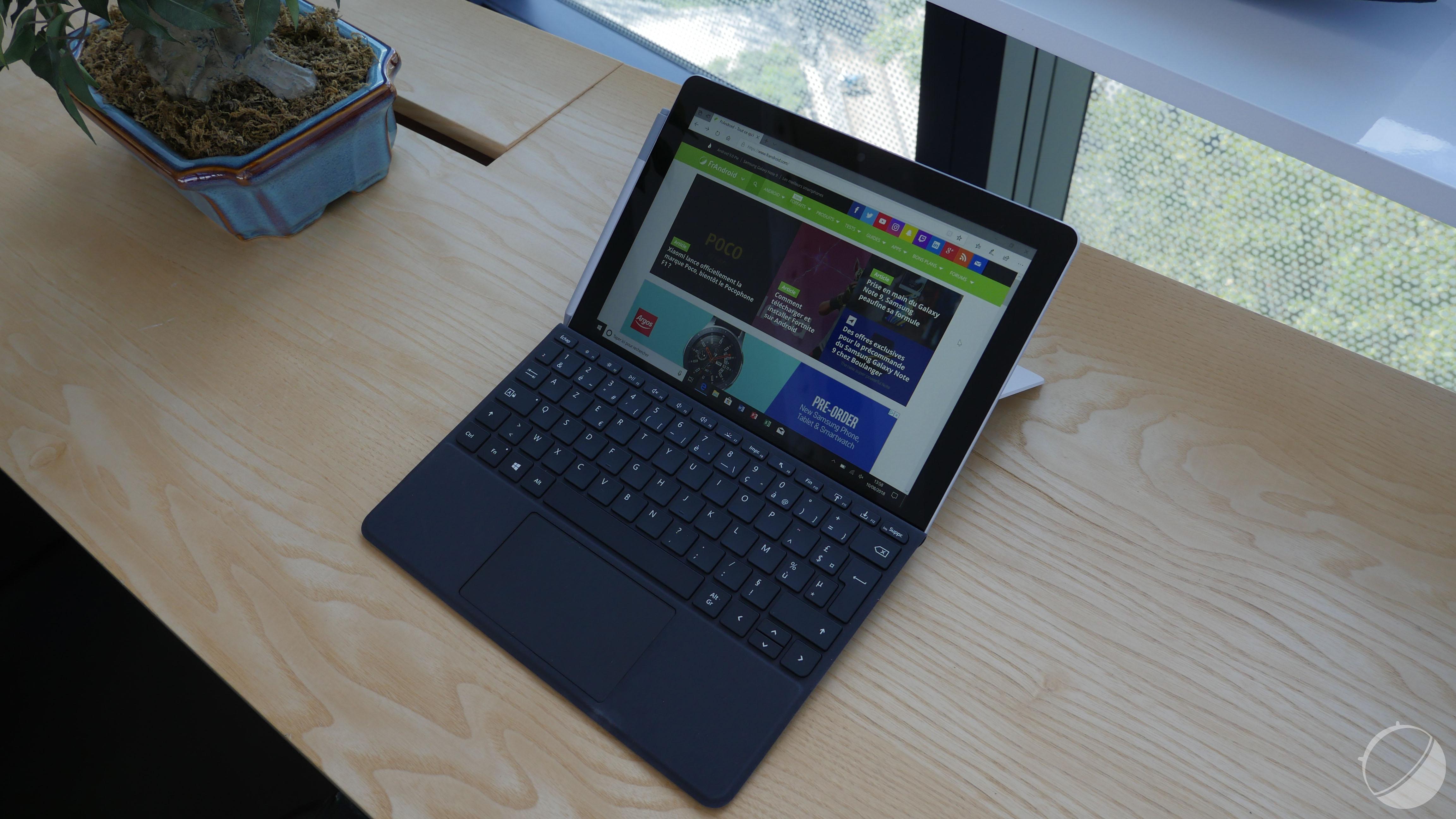 La Surface Go aurait pu utiliser un processeur ARM