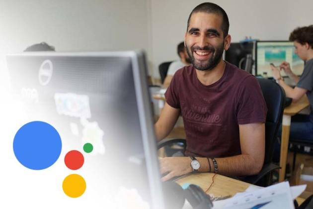 Omar Belkaab, heureux grâce à Google Assistant